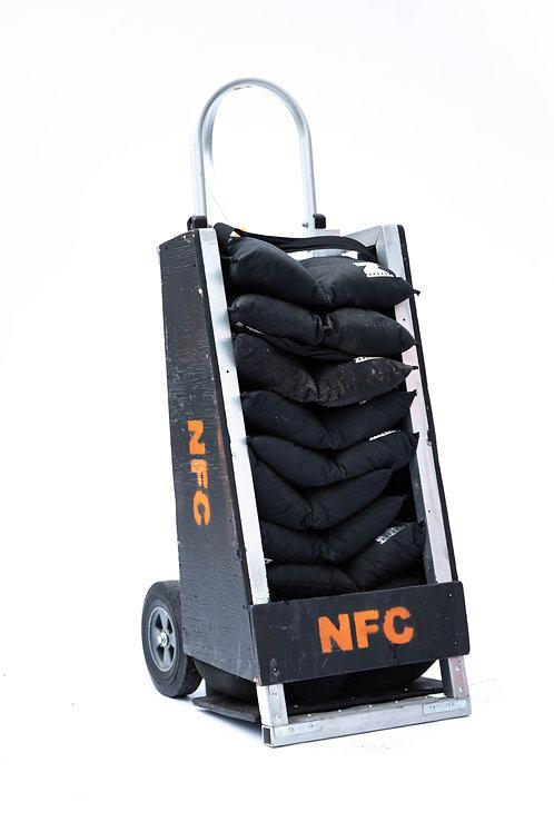 Custom Sandbag Cart, 11 Sandbags per Cart