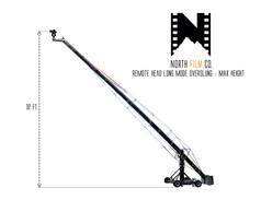 NFC Crane - Remote Head Long = overslung