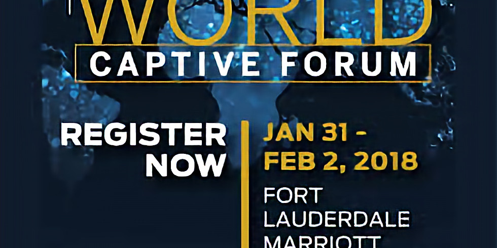 2019 World Captive Forum