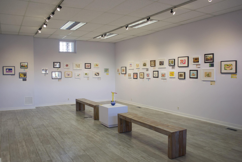 Exhibition Light D Model : Light grey art lab: foodies