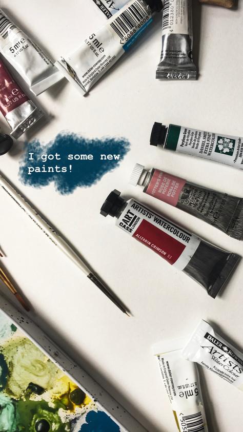 New Paints!