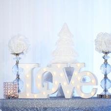 Fabuleux Event Center Winter Wonderland