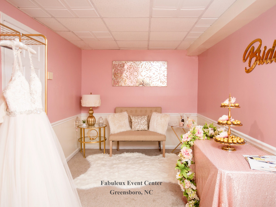Fabuleux Event Concierge Bridal Suite Greensboro, NC