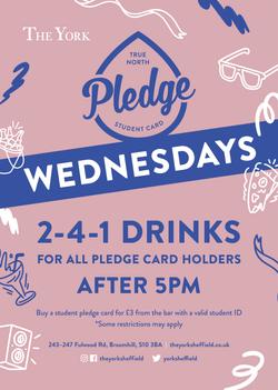 Pledge Wednesdays