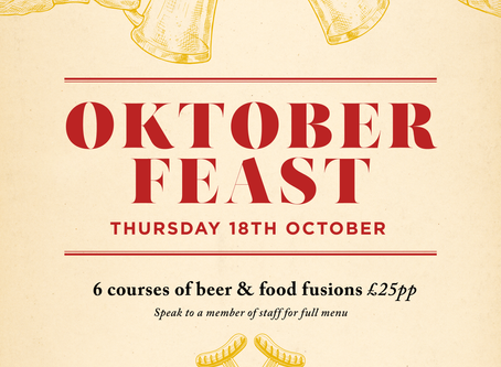 Oktober Feast at The York