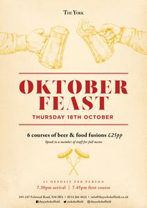 Oktober Feast at The York Sheffield