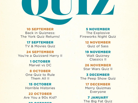 Back in Quizness!