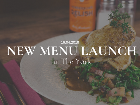 Delicious new dishes coming your way…