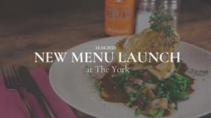 New menu launch at The York