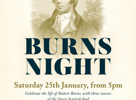 Burns Night returns in 2020