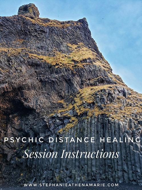 Psychic Distance Healing