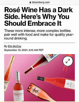 Bloomberg rosé article link
