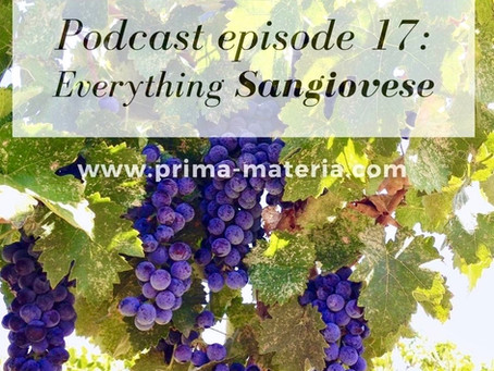 Sangiovese: A Couple Attempts