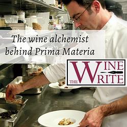 The Wine Alchemist behind Prima Materia.