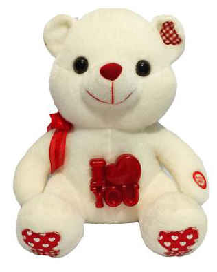 I Love You - Ursinho Branco