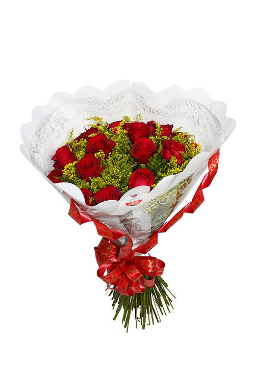Buquê 24 Rosas Tradicional