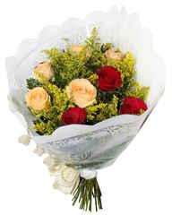 12 rosas tradicional misto