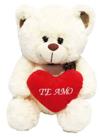 Te Amo - Urso Branco