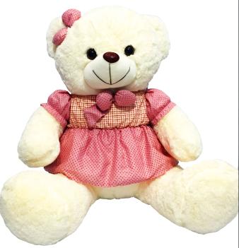 Ursinha - Vestido Rosa
