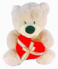 Urso Coração Presente