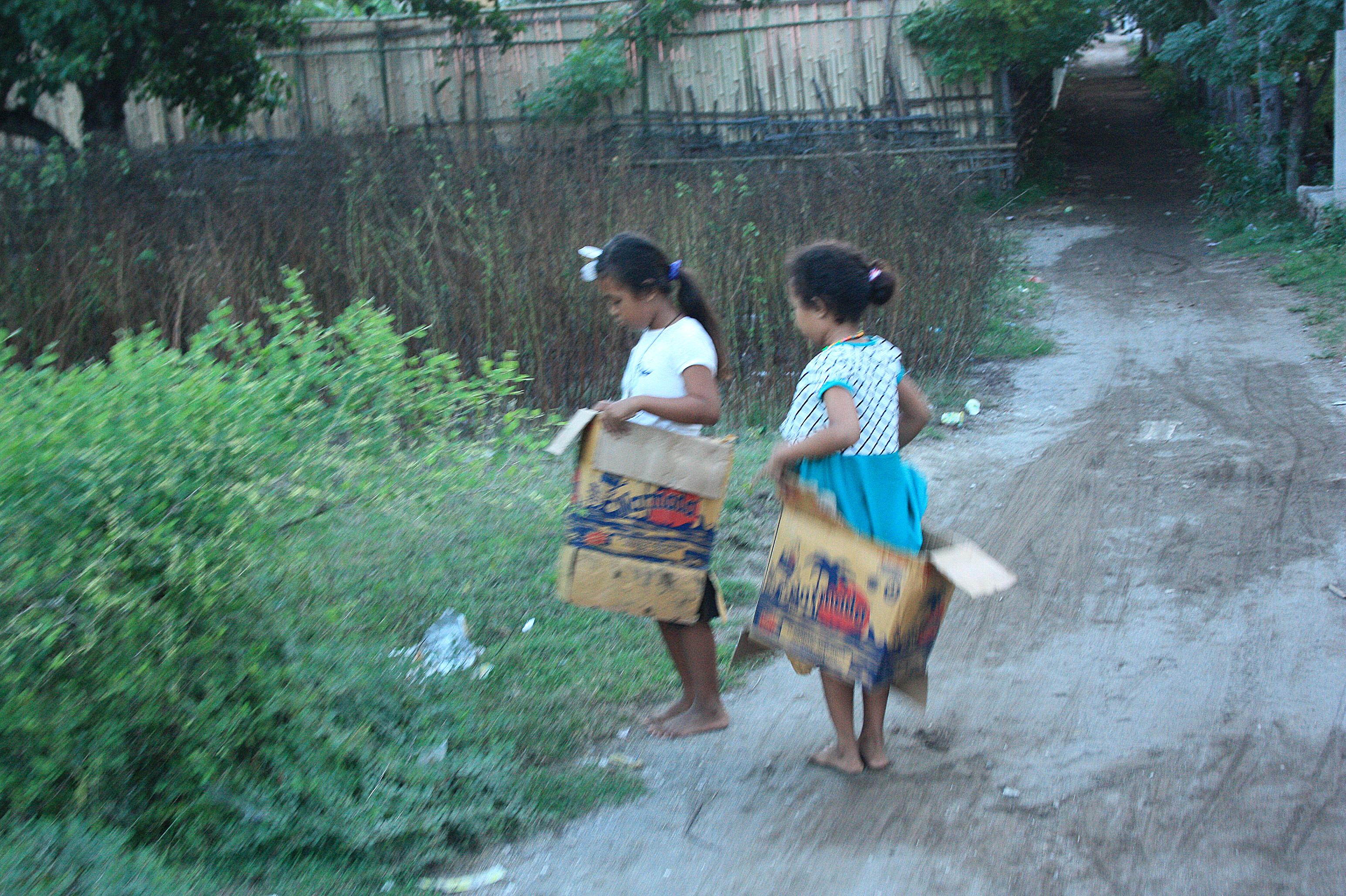 deťom stačia na hranie krabice :)