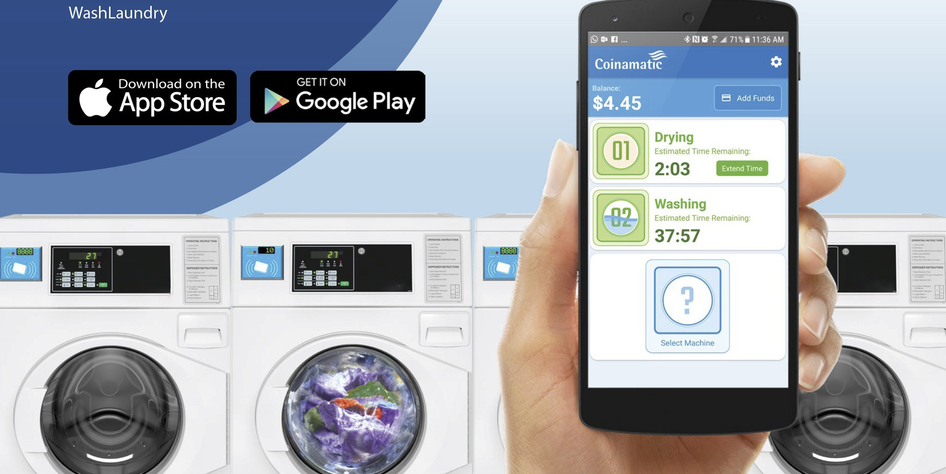 Le1150 Smart Laundry App