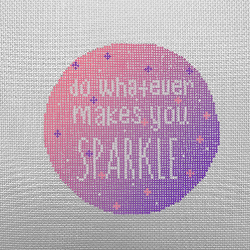What Ever Makes You Sparkle- Pink