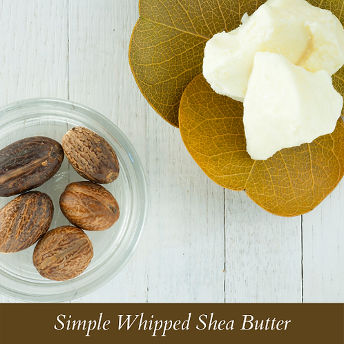 Simple Whipped Shea Butter