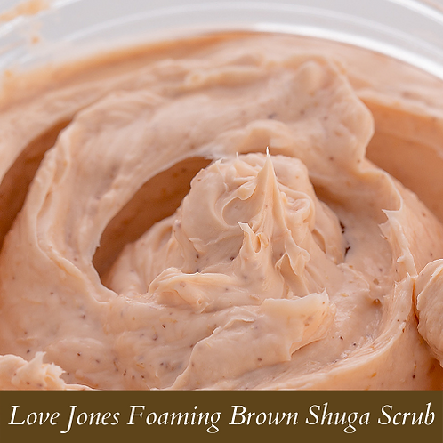 Love Jones Foaming Brown Shuga Scrub