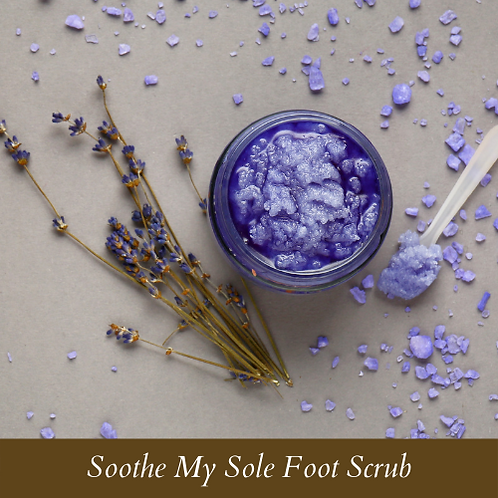 Soothe My Sole Foot Scrub