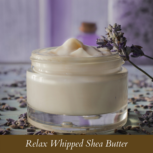 Relax Whipped Shea Butter