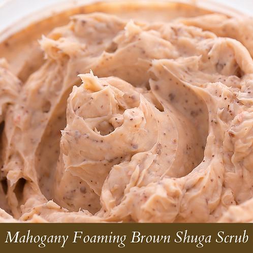 Mahogany Foaming Brown Shuga Scrub