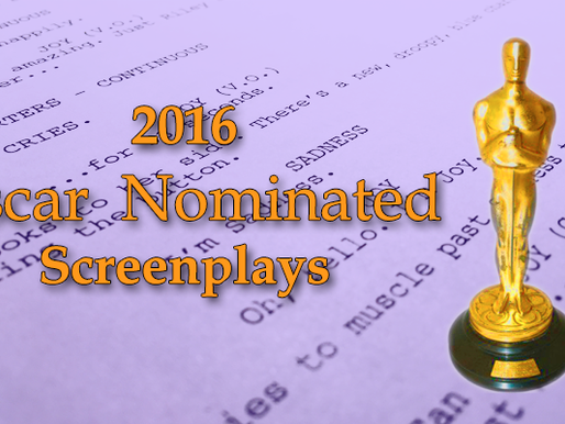 Read This Now: 2016 Oscar Nominated Screenplays