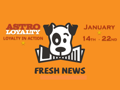 Astro Fresh News | January 14th - 22nd