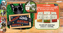 Astro Brand of the Week: Canidae Jumps in with All Four Feet!