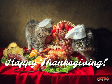 Thankful for Furry Friends and Family