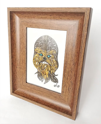 Cuadro Chewbacca Star Wars  Filigrana
