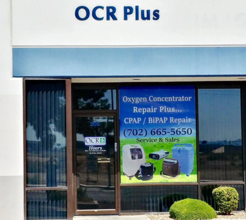 Oxygen | CPAP | Repair | Sales | OCR Plus | United States