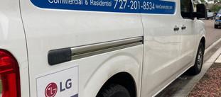 HVAC Service Truck