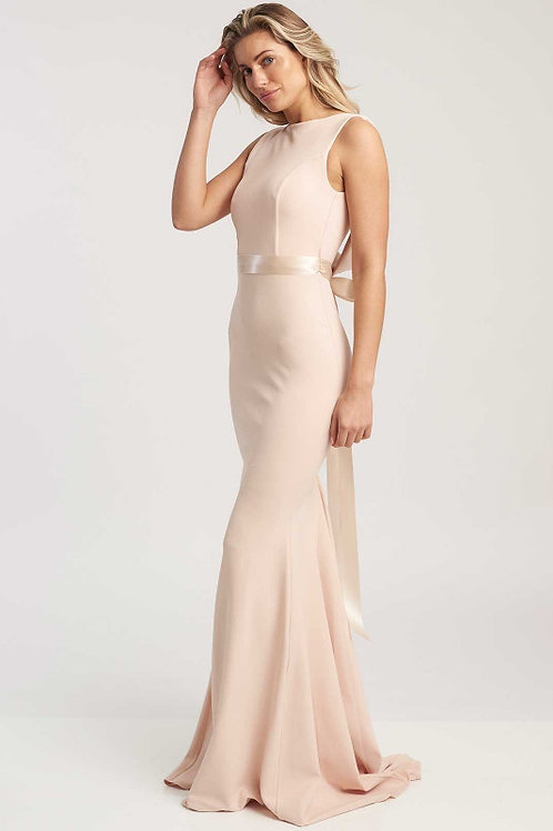 Saint.A, Nude Eris Bridesmaid Dress