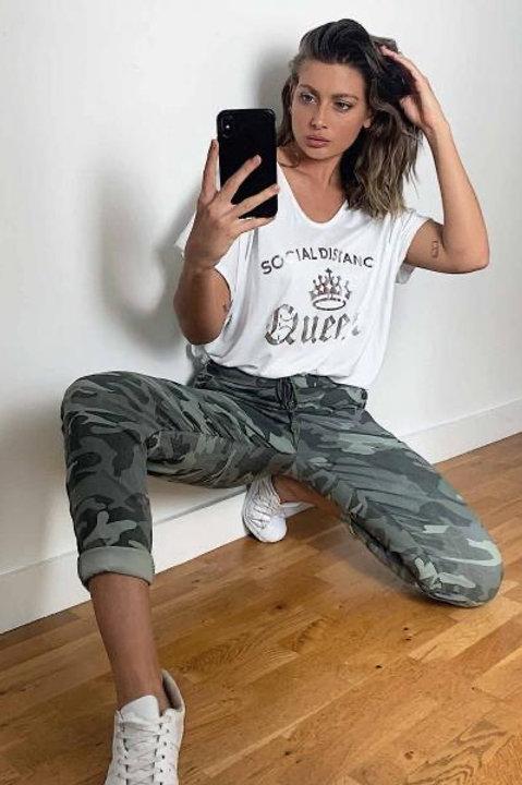 Saint.A Urban Camouflage Slim Jean