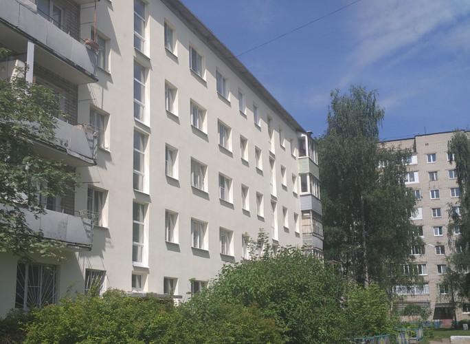 Жилой дом на улице Клубная г.Ярославль