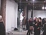 Reading Serie Sydney Artspace performance by artist Frank Fu