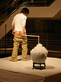 The Asian Bubble performance by artist Frank Fu