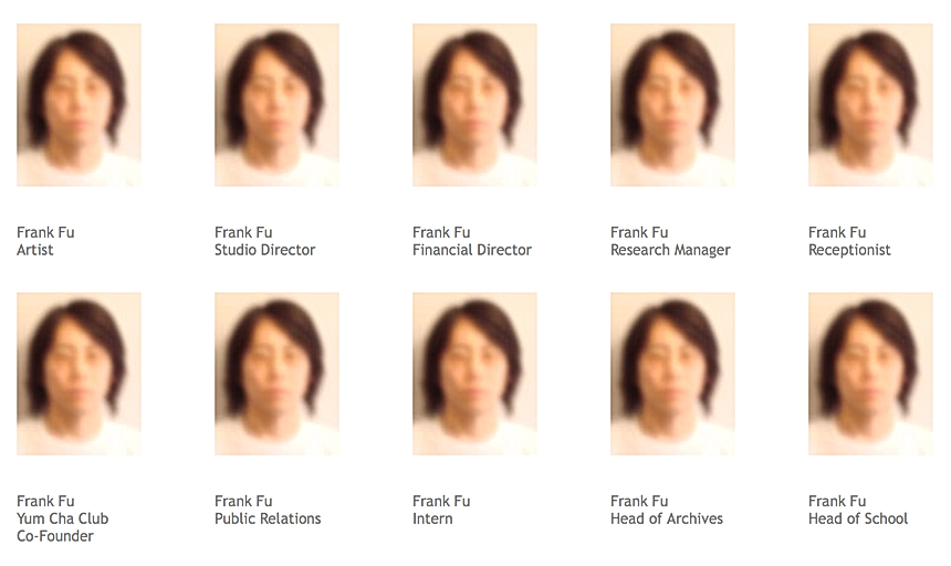 contact artist Frank Fu