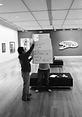 Auckland Art Gallery performance by artist Frank Fu