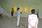 Contemporary Art Context performance by artist Frank Fu