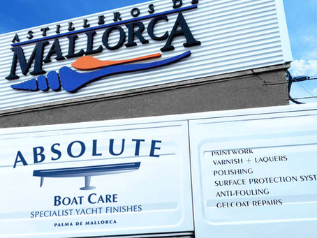 ABSOLUTE BOAT CARE AFFILIATES WITH ASTILLEROS DE MALLORCA