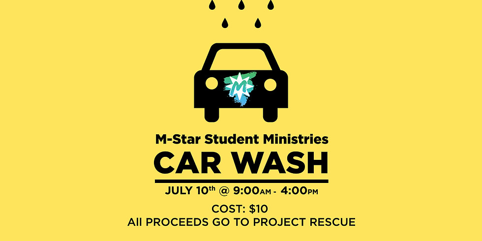 Car Wash to Benefit Project Rescue