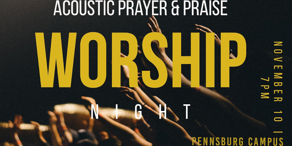 Acoustic Praise and Worship Night